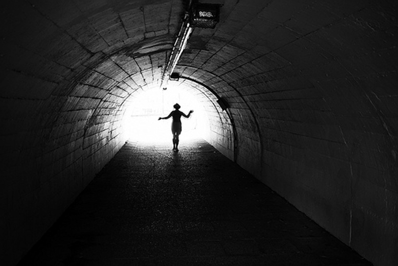 light-at-the-end-of-the-tunnel-woman-dance